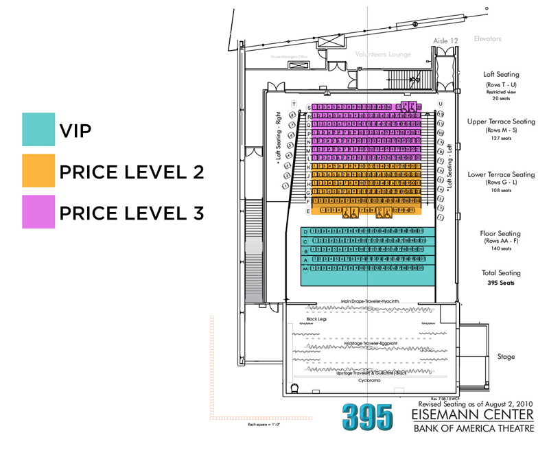Eisemann Center Seating Chart