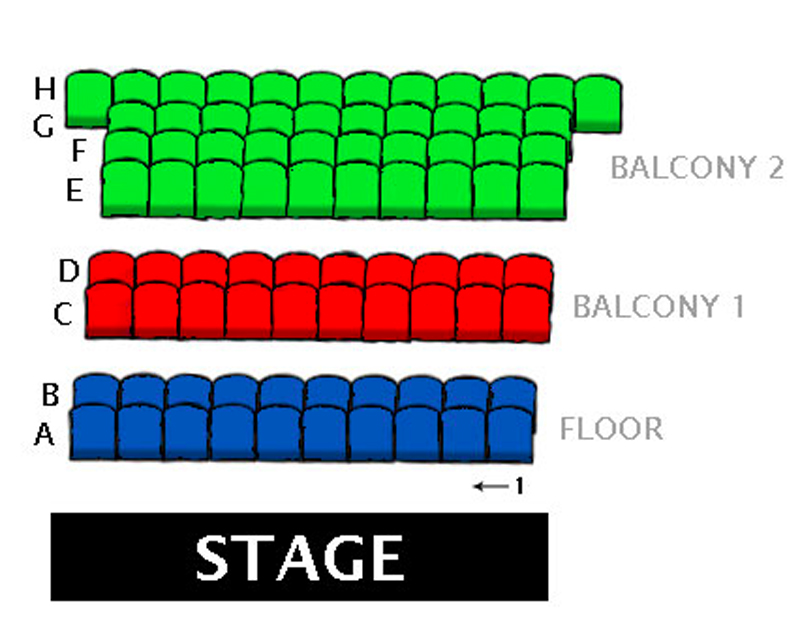 Geppetto�s Theater Seating Chart