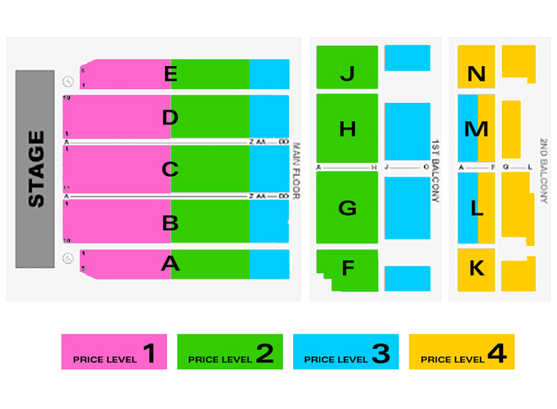 Mcfarlin Auditorium Seating Chart Brokeasshome Com