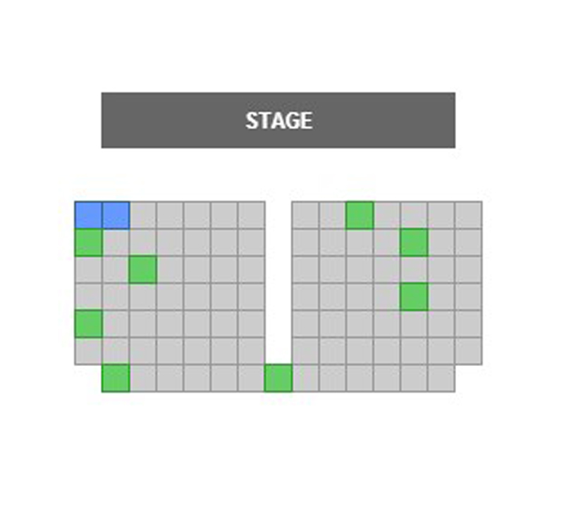 ONSTAGE in Bedford Seating Chart